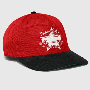 Pappe Fahrer Stern Trabi Trabant w - Snapback Cap