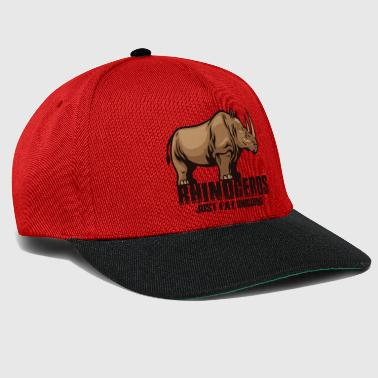 Humor Rhinoceros Just Fat Unicorns - Gorra Snapback