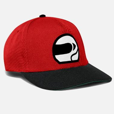 Motor Head Motor Speed Racing Helmet Icon - Snapback Cap 114939f45bd