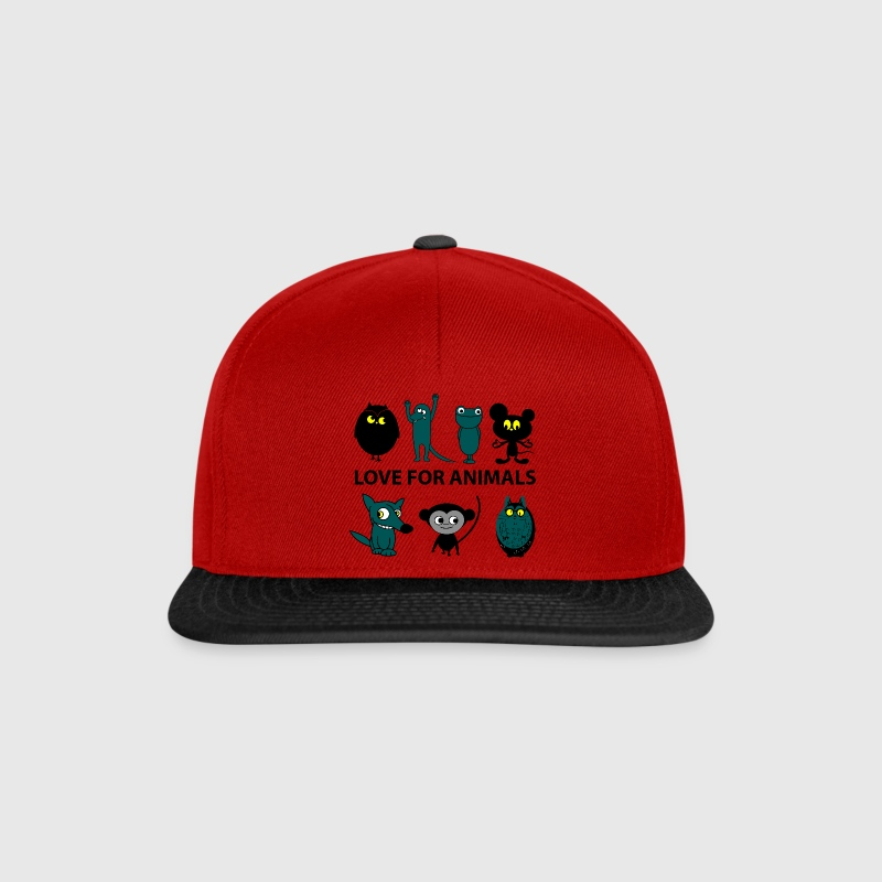 love for animals - Gorra Snapback