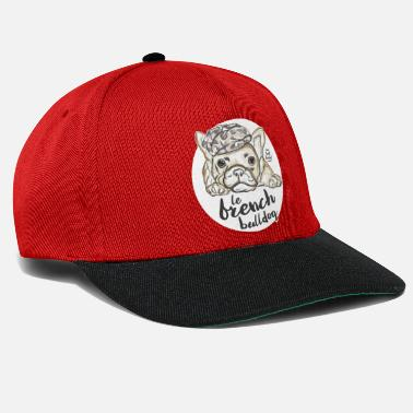 French Bulldog - Casquette snapback