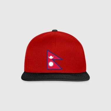 National Flag Of Nepal - Snapback Cap