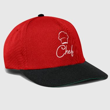 Chef - Chef T-Shirt - Chef's Hat - Chef - Snapback Cap