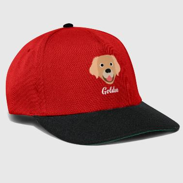 Gold Golden - Golden Retriever - Snapback-caps