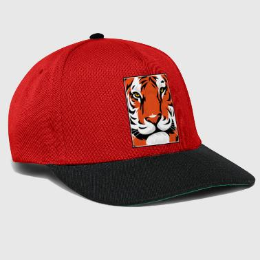 Tiger Graphic - Snapback Cap
