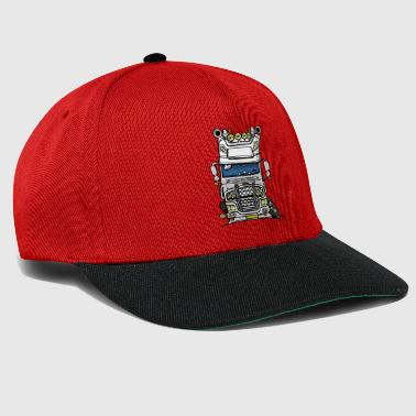 0613 daf fx on the road wit - Snapback cap
