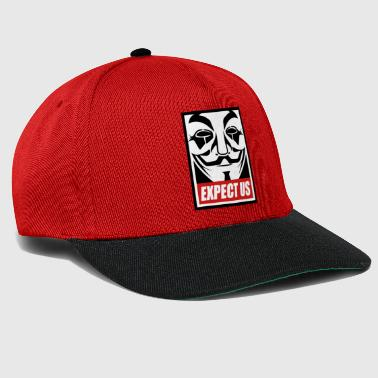 Anonymous Anonymous - Expect us - We are legion - Snapback Cap