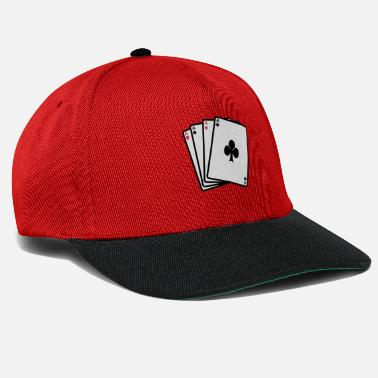 Cards poker cards - Snapback cap