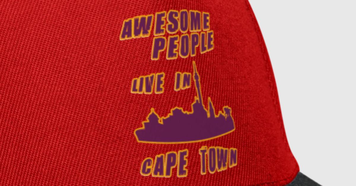 Kapstadt Ehrfürchtige Leute leben in von Tillhunter   Spreadshirt