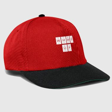 whats up periodic table nerd gift - Snapback Cap