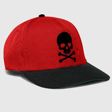 Heavy Metal Pirate Skull - Trendy & Cool Skull - Snapbackkeps