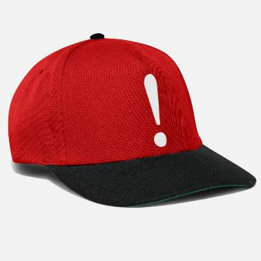 Exclamation-mark Therefore! Show the world your statement. - Snapback Cap