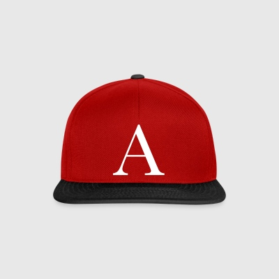 Lettre a - Casquette snapback