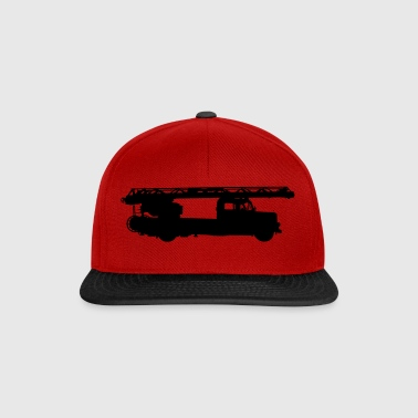 Aerial ladder fire department - Snapback Cap