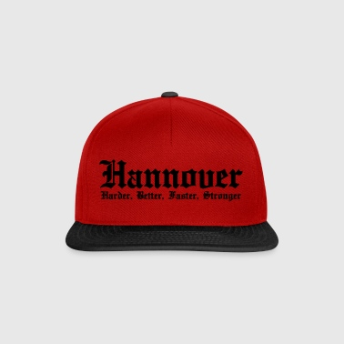 Hannover Harder Better Faster Stronger - Snapback Cap