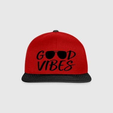 Good vibes with sunglasses - Snapback Cap