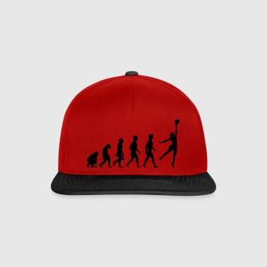 Volleyball Player Volleyball Player Evolution - Snapback Cap