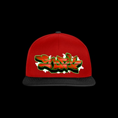 Graffiti letras Red Suck 003 - Gorra Snapback