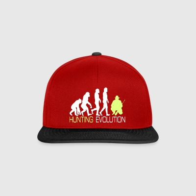 Evolution - Hunting T-shirt voor jagers Gift - Snapback cap