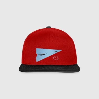 Smily_flight - Snapback Cap