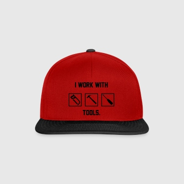 Zimmermann: I work with Tools. - Snapback Cap