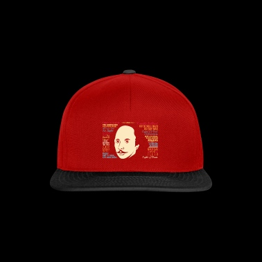 Funny Shakespeare Insult - Snapback Cap