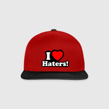 I LOVE HATERS - I LOVE ENVY - Casquette snapback