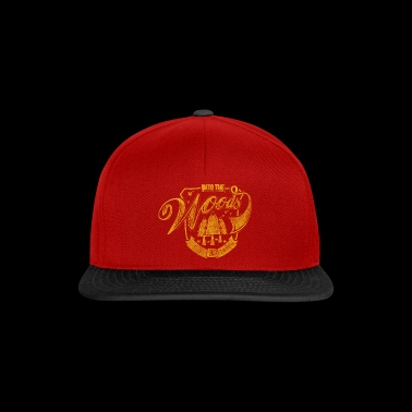 Step into the woods - Snapback Cap