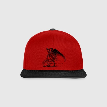 Sitting Demon - Snapback Cap