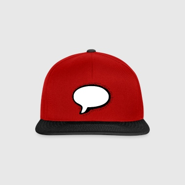 Speech Bubble - Casquette snapback