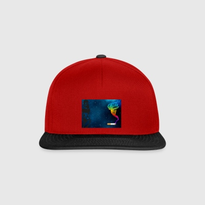 girl galaxy - Snapback Cap