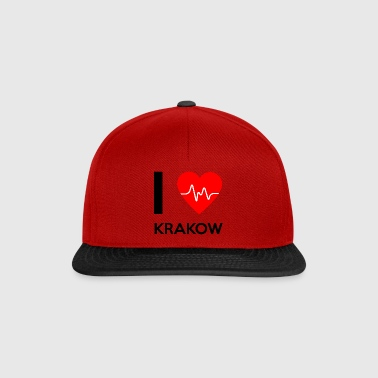 J'aime Cracovie - I love Cracovie - Casquette snapback