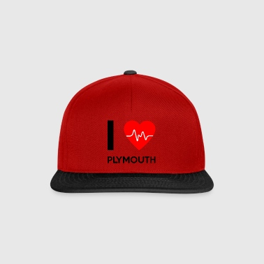 I Love Plymouth - I love Plymouth - Snapback Cap