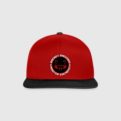 Rocket raccoon logo full - Casquette snapback