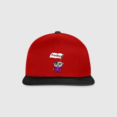 Freaky Happy Halloween freaky crass blood - Snapback Cap