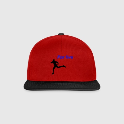 Run for living - Snapback Cap