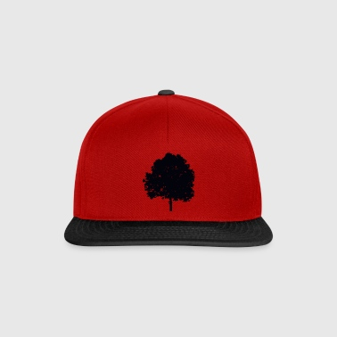 Tree black - Snapback Cap