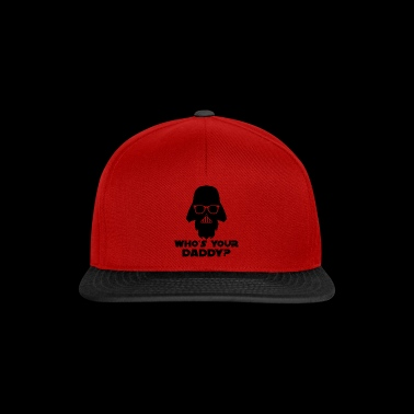 WHO IS YOUR DADDY? Geschenk Design - Snapback Cap