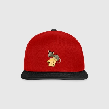 rongeur souris Fiese vermine rongeur souris fromage - Casquette snapback