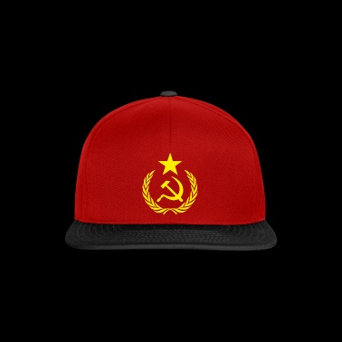 Flag Communists and Symbols - Snapback Cap