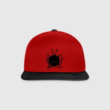 blekksprut monster - Snapback-caps