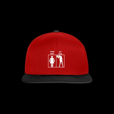 Cyprus gift my wife your wife - Snapback Cap