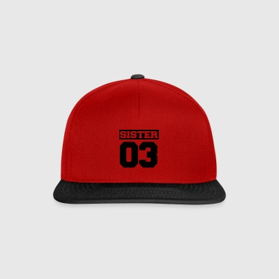 Sister brother family - Snapback Cap