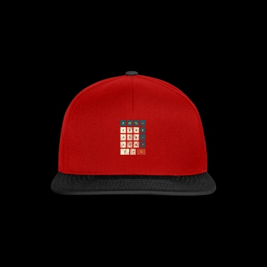 Genius gift calculator math calculation - Snapback Cap
