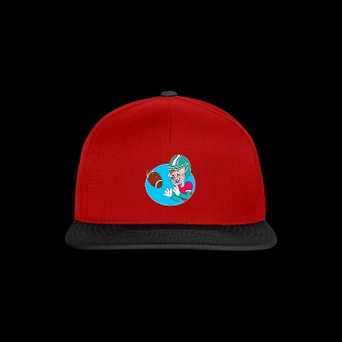 Giocatore di football americano comico, idea regalo - Snapback Cap