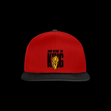 Lion Bow Before the King Lion-cadeau - Snapback cap