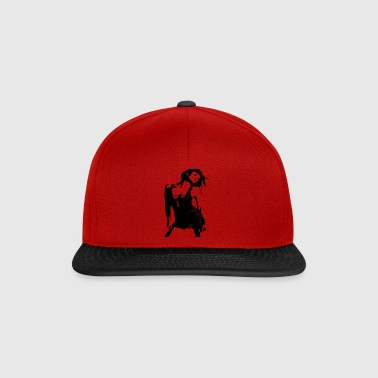 dancing woman - Snapback Cap