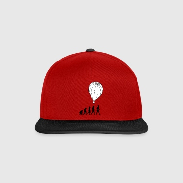 hot air balloon montgolfiere hotair balloon3 - Snapback Cap