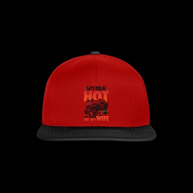 Should see my wife with Jeep - Snapback Cap