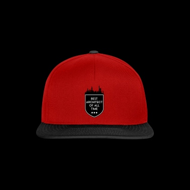 BEST ARCHITECT OF ALL TIME SHIELD - Snapback Cap
